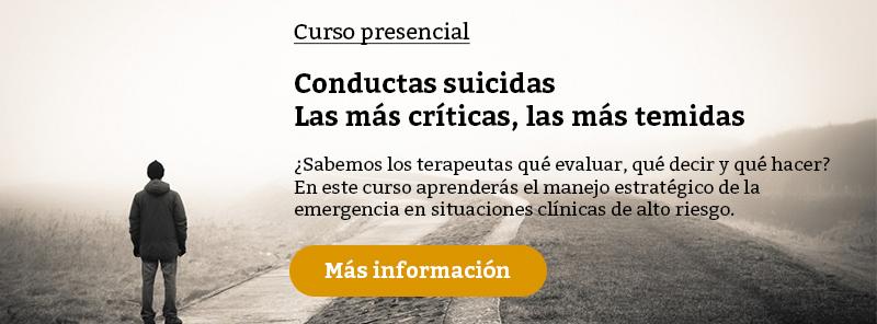 Curso conductas suicidas